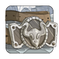 Fancy Silver-Plated Buckle