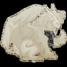 Silver steampunk scarf tundra m
