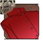 Red Lab Coat