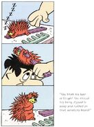 Porcupine Brush from The Flintstones' Wacky Inventions
