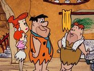 The Flintstones - The Big Move - Fred, Wilma, Pebbles and Mr. Van Slaten