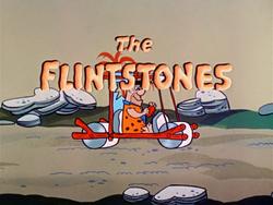 The Flintstones 1960 title screen