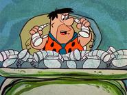 The Flintstones - The Tycoon - Fred Flintstone with Gotrocks' Phones