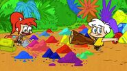 Yabba-Dabba Dinosaurs - Art Attack
