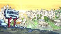 Bedrock in The Flintstones and WWE - StoneAge SmackDown!