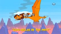 Yabba-Dabba Dinosaurs - Goo-rillas in the Mist - Episode Title Card