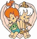 Pebbles and Bamm-Bamm Clipart - 4