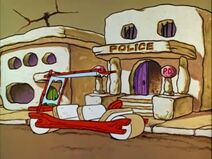 The Flintstones - Bedrock Police Station from Old Lady Betty