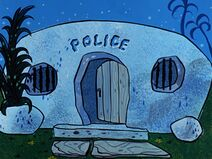 The Flintstones - Bedrock Police Station from The Babysitters