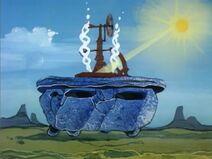 The Flintstone Comedy Show - Fred vs. the Energy Crisis - The Flintstone Rockuzzi