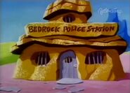 The Flintstone Comedy Show - Bedrock Police Station from Gold Fever