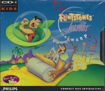 Flintstones Jetsons Time Warp - Front Cover