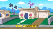 Yabba-Dabba Dinosaurs - The Dino Whisperer - Episode Title Card