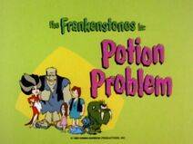 The Flintstone Comedy Show - Episode Title Card - Potion Problem