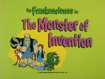 The Flintstone Comedy Show - Episode Title Card - The Monster of Invention