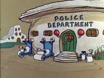 The Flintstones - Bedrock Police Station from The X-Ray Story