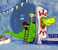 Tyrannosaurus - The Flintstones and WWE - Stone Age SmackDown!