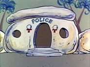 The Flintstones - Bedrock Police Station from Baby Barney