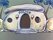 The Flintstones - Bedrock Police Station from Baby Barney