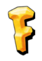 The Flintstones - F Letter Logo