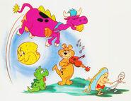 The Flintstones Bedtime Storybook - Cowasaurus, Dogasaurus and Baby Puss