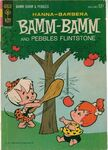 Bamm-Bamm and Pebbles Flintstone by Gold Key Comics - Cover