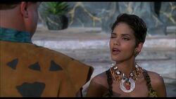 The Flintstones - 1994 Live Action Film - Sharon Stone's Wink