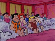 The Flintstones - Bachelor Daze - Fred, Wilma, Barney, Betty in the Cinderama