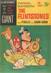 The Flintstones with Pebbles and Bamm Bamm by Gold Key Comics - Giant Cover