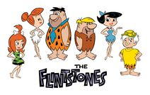 The Flintstones Concept Art by Shane Glines with Teenage Pebbles and Bamm-Bamm