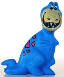 Tyrannosaurus Toy - Post Pebbles Cereal