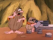 The Flintstone Kids - I Was a Teenage Grown-Up - Captain Caveman and Grown-Up Cavey Junior