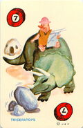 The Flintstones Ed-U-Card - Triceratops