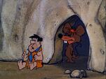 The Flintstones - Mouseasaurus with Fred from Itty Bitty Fred