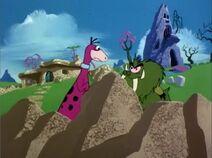 The Flintstone Comedy Show - House Wars