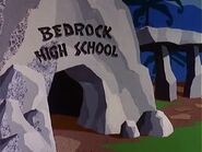 The Pebbles and Bamm-Bamm Show - Bedrock High School from Gridiron Girl Trouble