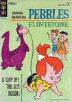 Pebbles Flintstone by Gold Key Comics - Cover
