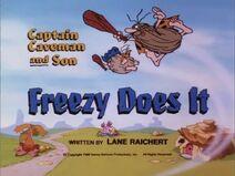 The Flintstone Kids - Episode Title Card Image - Freezy Does It