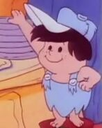 The Flintstone Kids - Character Profile Image - Dusty Rubble