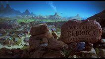 The Flintstones - Bedrock in the 1994 Live-Action Film