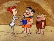 The Flintstones - Flash Gun Freddie - Fred, Barney and Wilma