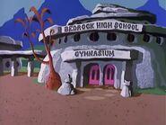 The Pebbles and Bamm-Bamm Show - Bedrock High School Gymnasium
