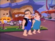 The Flintstones in I-Yabba Dabba-Do! - Mr. and Mrs. Slate