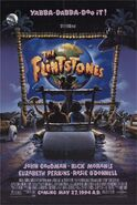 The Flintstones - 1994 Film - Theatrical Poster