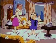 The Flintstone Comedy Hour - Mr. and Mrs. Slate in Pizza Puss