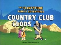 Country Club Clods