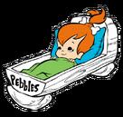 Pebbles Flintstone - Clipart - 11