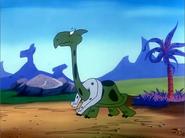 Dinosaur Shoe Catcher Turtlesaurus - The Jetsons Meet The Flintstones