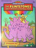 Stegosaurus coloring book