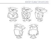 Yabba-Dabba Dinosaurs - Concept Art by Chris Battle - Barney Rubble - 1